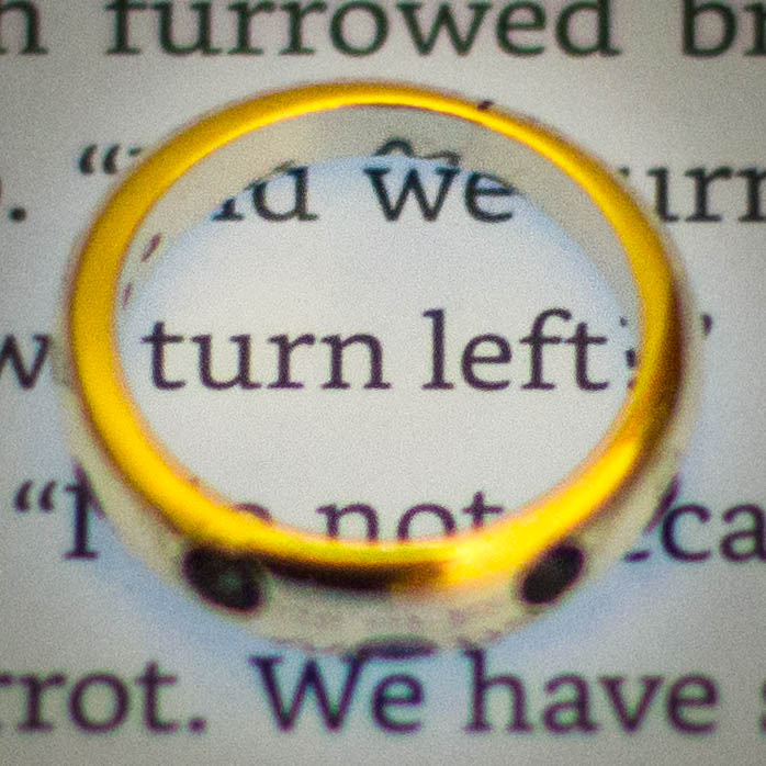 Turn Left with Goa Ring